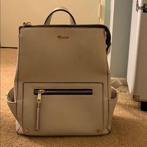 Cute white backpack/purse